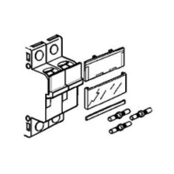 Ensemble solidarisation - pour 2 coupe-circuit sectionneur 1P