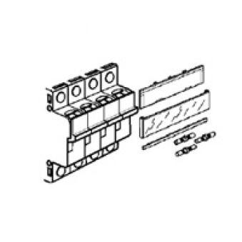 Ensemble solidarisation - pour 4 coupe-circuit sectionneur 1P