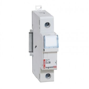 Coupe-circuit domestique - 1P - cartouche cylind miniat - 250 V~