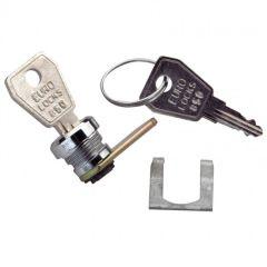 Serrure à clé n° 850 pour porte coffrets Drivia