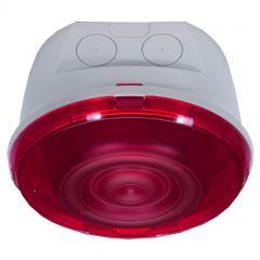Diff. sonore pr alarme incendie Prog Mosaic -saillie- IP 65 -avec flash-classe B