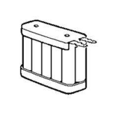Batterie nickel cadmium - 12 V - 1,2 Ah - pour BAAS Pr