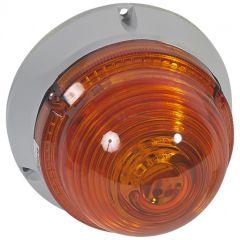 Feu à LEDs clignotant/fixe 55 candelas - 230 V~ - orange