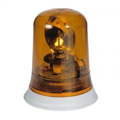 Feu tournant signalisation 10 000 candelas - IP 55 - IK 08 - 230 V~ - orange