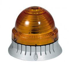 Feu clignotant/fixe 55 candelas - IP 54 - IK 10 - 12 à 48 V= - orange