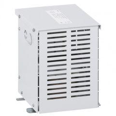 Transfo isolement triphasé protégé - prim 400 V/sec 230 V + N - 16 kVA - écran