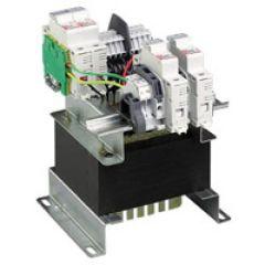 Transfo mono nu TFCE - prim 230-400 V/sec 115 ou 230 V - 63 VA