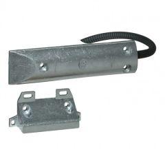 Détecteur magnétique ouverture de porte de garage - alarme intrusion filaire