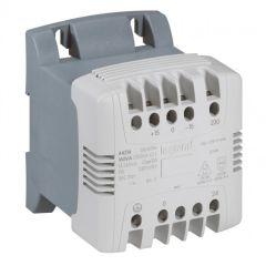 Transfo cde et signal mono bornes à vis - prim 230-400 V/sec 24 V - 63 VA