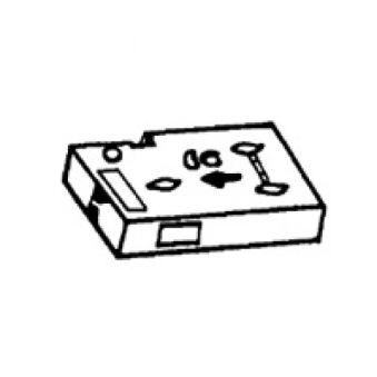 Recharge ruban - pour titreuse réf. 063 20 - l 12 mm