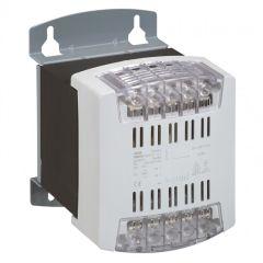 Transfo cde et signal mono bornes à vis - prim 230/400 V/sec 115/230 V - 1000 VA