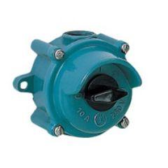 Interrupteur ML - 10 A - IP 44 - 250 V~ - Bipolaire - métal