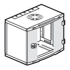 Coffret fixe LCS² 19'' - IP20-IK08 - 6 U - 350x600x400 mm