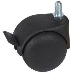 Roulettes (4) - pour montage sur coffrets pivotants LCS² 19''
