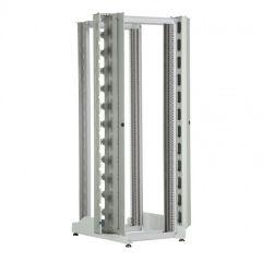 Bâti-rack 19'' - 42 U - 4 montants - 1956x540x822 mm