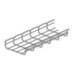 Grille guide-câbles - Long. 3 m Haut. 54 mm larg. 400 mm