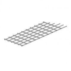 Grille guide-câbles plate - larg. 250 mm - pour baie 33 U - LCS²