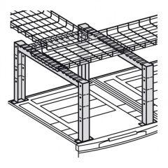 Support pour grille guide-câbles - pour largeur 600/800 mm - LCS²