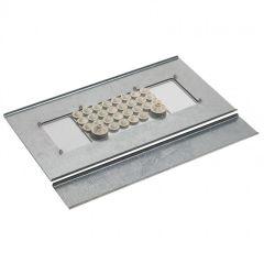 Plaque Cabstop IP55 - pour armoire métal Altis larg. 1000 x prof. 400 et +