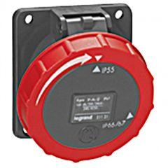 Socle tableau Hypra - IP66/67-55 - 16 A - 380/415 V~ - 3P+T - plast