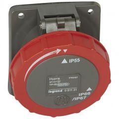 Socle tableau Hypra - IP66/67-55 - 16 A - 380/415 V~ - 3P+N+T - plast