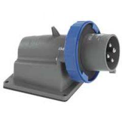 Socle connecteur Hypra - IP66/67-55 - 16 A - 200/250 V~ - 2P+T - plast