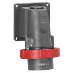Socle connecteur Hypra - IP66/67-55 - 16 A - 380/415 V~ - 3P+N+T - plast