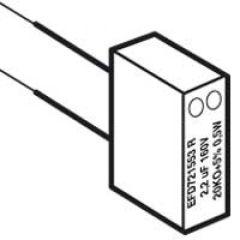 Module d'essai RC - modèle E - prise téléphone - montage dans un DTI