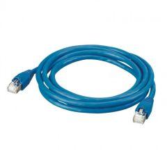 Cordon pr réseau Optimum RJ 45-RJ 45 - Cat.6 - S/FTP blindé - L 2 m - PVC - LCS²